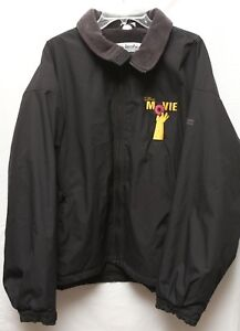 The Simpsons Movie 2007 Cast Crew Columbia Black Jacket Embroidered Donut Xl Ebay