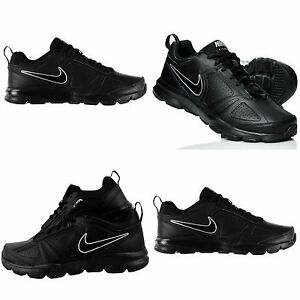 Mens-Nike-T-Lite-XL-Trainers-Black-Training-Sports-Running-Gym-Shoes-Size