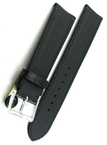 20mm /18 echt ALLIGATOR BAND Handarbeit GERMANY Louisiana KROKOBAND Uhrenband