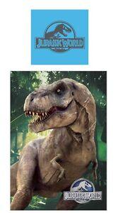 jurassic world park wende bettw sche 135x200 tyrannosaurus. Black Bedroom Furniture Sets. Home Design Ideas