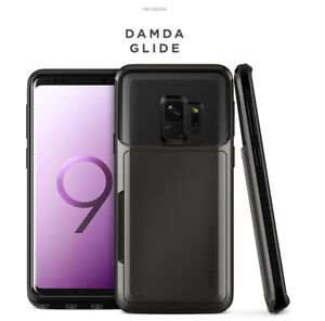 the latest cf683 1e360 Details about Verus Damda Glide Dual Slide Card Holder Wallet Cover For  Galaxy S9 S9+Plus Case