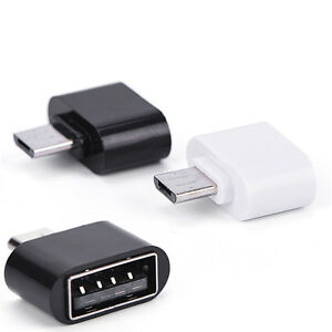 Details about Mini OTG Cable USB OTG Adapter Micro USB Converter for Tablet  PC Android SG