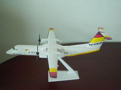 1/100 Tyrolean Q8-300 airplane Desk Display Model