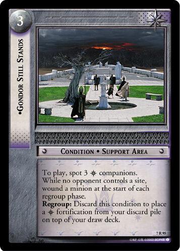 LOTR TCG  7R95 Gondor Still Stands