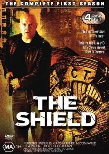 1 of 1 - - THE SHIELD COMPLETE FIRST SEASON [REGION 4] NEW SEALED (AUSSIE SELLER