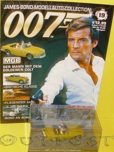 James Bond-il modellino di auto COLLECTION modelli per scegliere con punti, 1//43