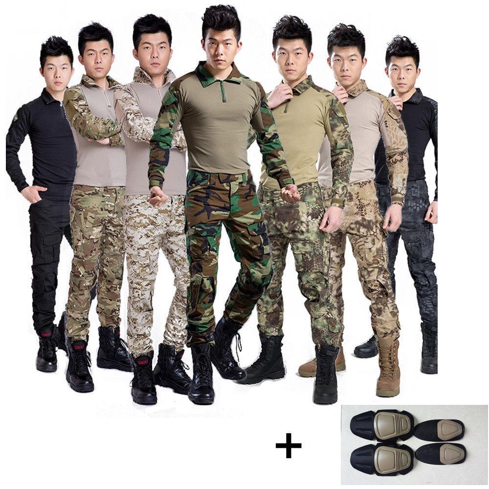 Hot Men Airsoft Tactical Gen3 G3 Combat Suit Shirt&Pants Special Force Uniform 1