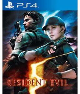 Sony-ps4-PlayStation-4-juego-residente-Evil-5-HD-neu-new-18