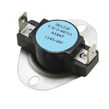 Reznor 50418 Limit Switch 125 Deg 145 Deg F Auto