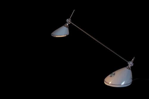 Hansa LED Rio Tischlampe Tischleuchte Lampe Metall Weiß NEU!