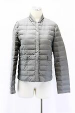 NWT$3495 Brunello Cucinelli Womens 100% Silk Quilted 100% Goose Down Jacket 42M