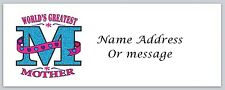 Personalized Return Address Labels Mom Mother Buy 3 get 1 free (a 24)