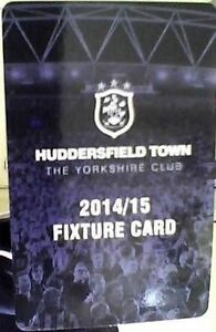 HUDDERSFIELD TOWN FOLD OUT FIXTURE CARD 20142015 EXCELLENT CONDITION - HUDDERSFIELD, West Yorkshire, United Kingdom - HUDDERSFIELD TOWN FOLD OUT FIXTURE CARD 20142015 EXCELLENT CONDITION - HUDDERSFIELD, West Yorkshire, United Kingdom