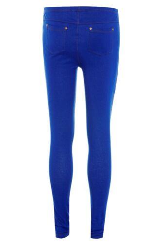 Da Donna Jeggings Donna Jeans Skinny Leggings pants taglie 8-14