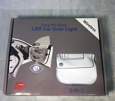 Zeta Phi Beta Sorority New LED Power Bank  NICE ONE!!