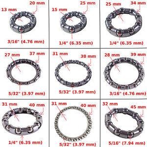 "BEARINGS 1 Pcs 1/"" 1//8 HEADSET MOUNTAIN BIKE CYCLE 1-1//8/"" L0Z0 BICYCL CAGED Q3P9"