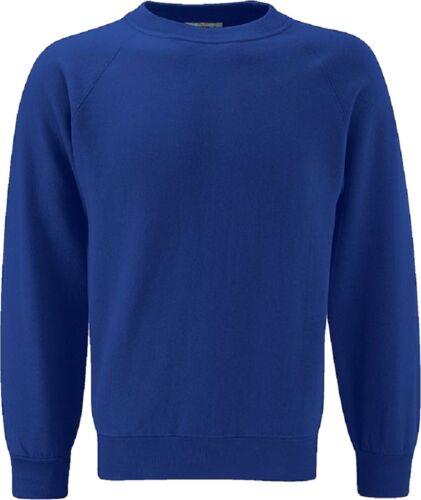 Skooleez School Uniform Bambini Ragazzi Ragazze Unisex Fleece Sweat Maglione solo Regno Unito