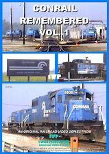 CONRAIL REMEMBERED VOL. 1 Railroad Train DVD Video CR