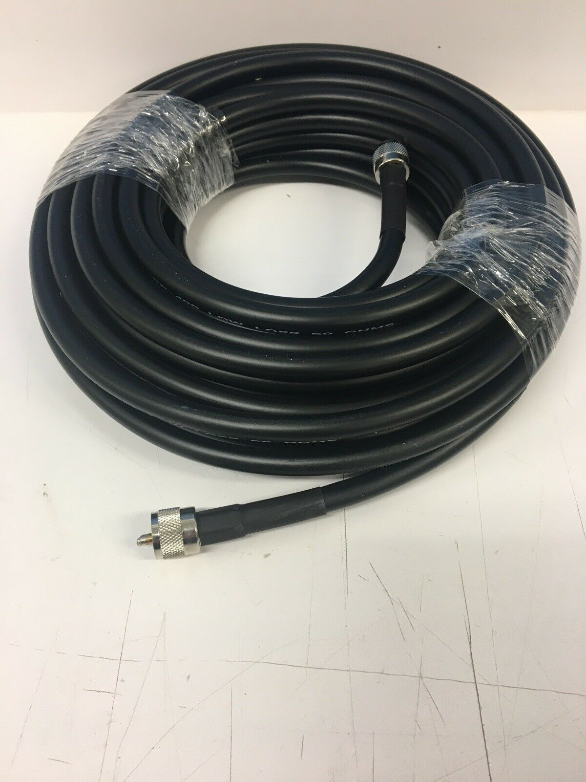 LMR-400 50' Super Low Loss Coax Cable Browning US Made PL-259 To PL-259 Hi Power. Buy it now for 60.00