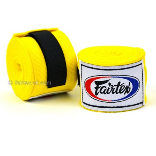 Fairtex 4.5m Boxing Stretch Hand Wraps MMA Hand Bandages MuayThai 450cm Handwrap
