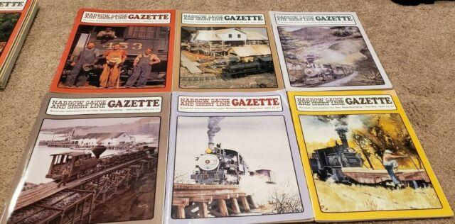 NARROW GAUGE AND SHORT LINE GAZETTE, 1993