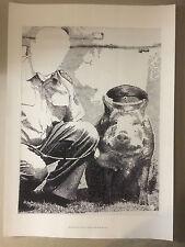 SIGMAR POLKE, exhibition  poster, Tate Modern gallery, 2014