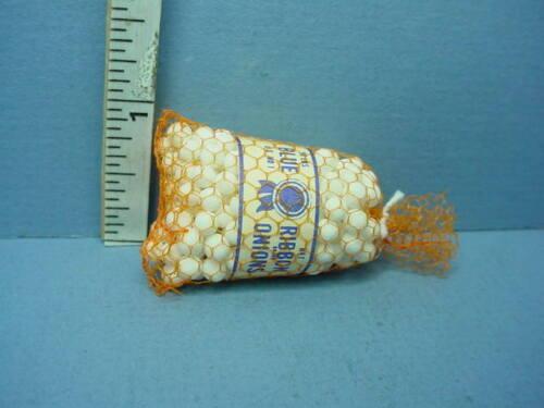 Dollhouse Miniature Sack of Onions #MUL 1304 Multi Minis 1//12th Scale Non-Edible