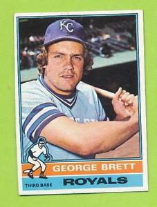 1976-Topps-George-Brett-19-Kansas-City-Royals-Nicely-Centered