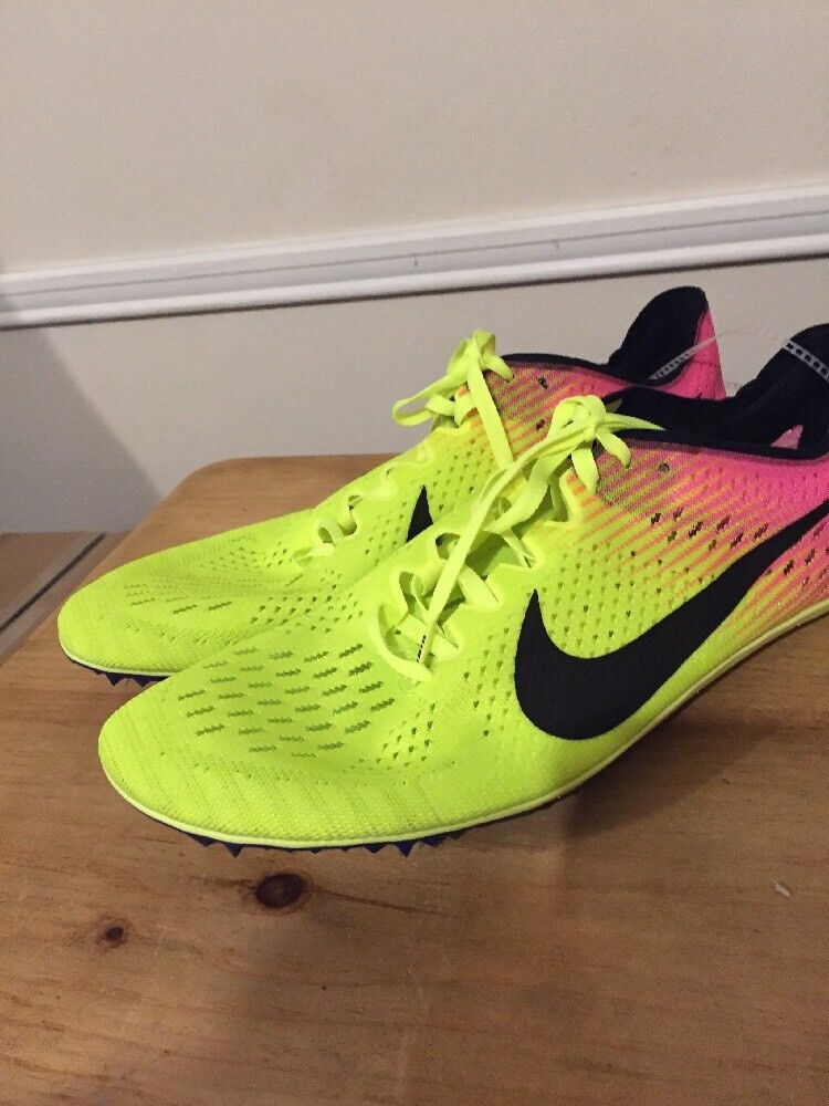 Men's Nike Zoom Victory Elite 2 Track Field Running Spikes 835998-999 Size 11