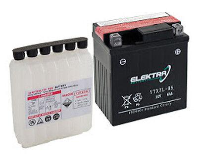 Batterie Elektra Ytx14-bs Piaggio Beverly E3 (m34300) 400 2006-2007