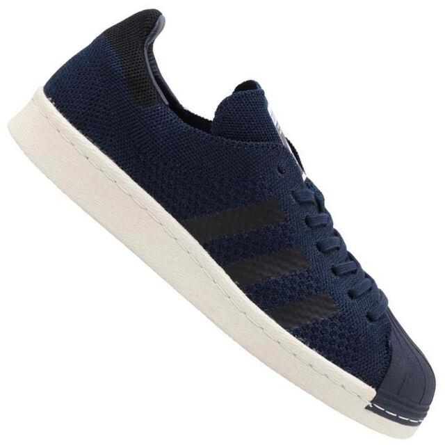 Adidas Originals Superstar 80s Primeknit Sst Pk Men's Sneakers Shoes Navy