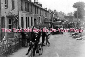 KE-405-WW2-Bombing-Gladstone-Road-Deal-Kent-1940-6x4-Photo