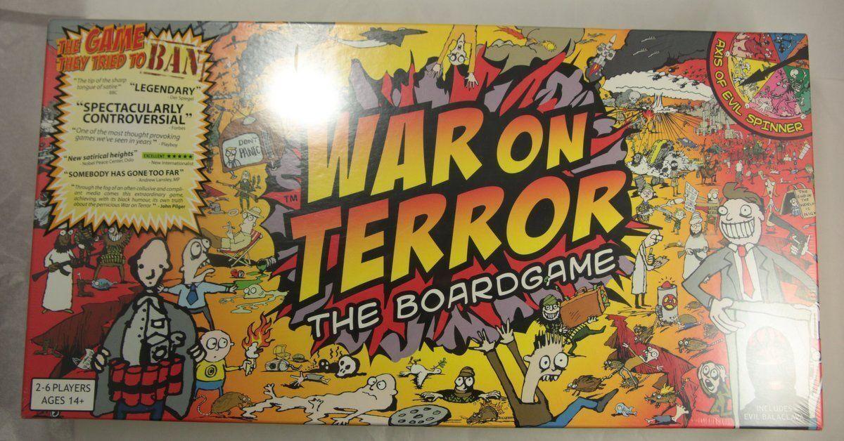 Guerre contre la terreur le jeu de plateau mettant-TerrorBull Games Neuf Scellé COPYRIGHT 2006 TGB