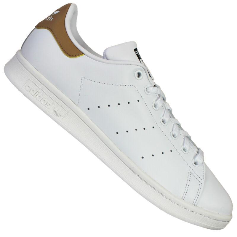 Adidas Originals Stan Smith Men's Trainers White Beige 45 1/3 Uk 10,5