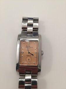 b14d731ed6b Baume   Mercier Hampton Masculino Tiffany   Co Relógio De Pulso ...