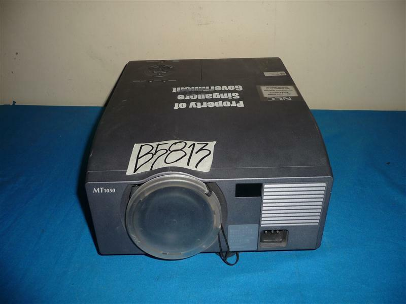 mwave nec mt1050 lamp for nec projector with housing ebay rh ebay com Old NEC Projectors Cables Old NEC Projectors Cables