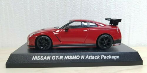 1//64 Kyosho NISSAN SKYLINE GT-R NISMO N ATTACK PACKAGE RED R35 diecast