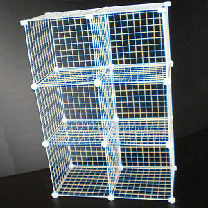 Delightful Image Is Loading BLACK WIRE CUBE STORAGE UNIT SHOE CLOTHES STORE