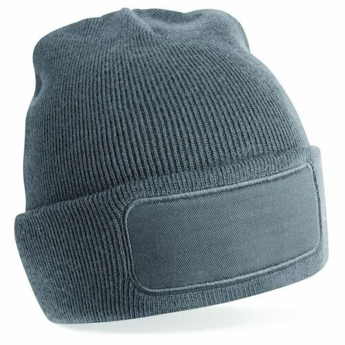 Beechfield-imprimantes /'s Bonnet-Coton Sergé patch pour propre impression