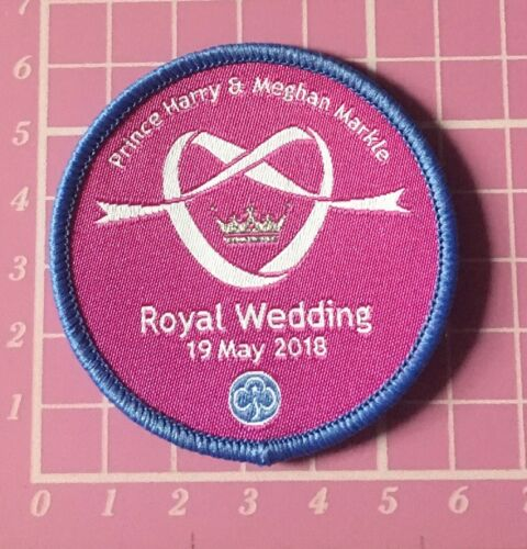 Megan Prince Harry Girlguiding Badge Camp Blanket Royal Wedding 19th May 2018
