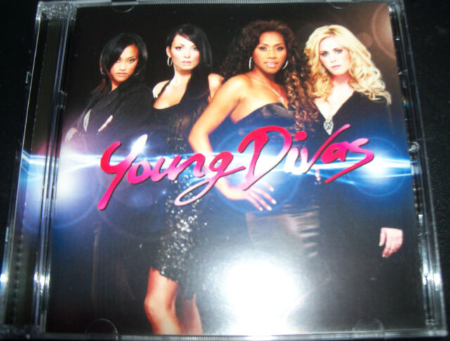 The Young Divas Australian Pop CD Ft Ricki Lee Paulini Kate Dearago