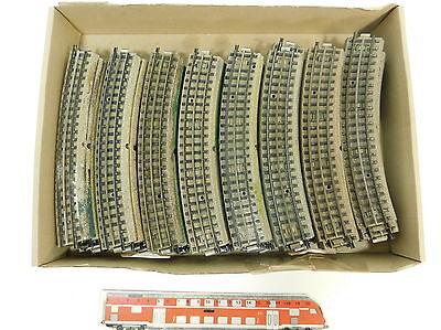 Bello Bc68-2# 40x Märklin H0/00/ac Pezzo Di Binario/ferrovia M-binario F. 3600/800/capo Fondi-iene M-gleis F. 3600/800/mittelleiter It-it Mostra Il Titolo Originale