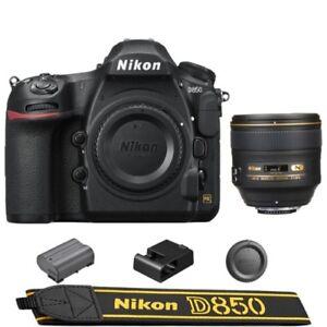 Nikon-D850-DSLR-Camera-Body-AF-S-NIKKOR-85mm-f-1-4G-Lens