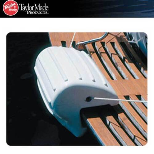 "Taylor Made Transom Fender Bumper Vinyl Boat Marine 10/"" x 22/"" White 56090"