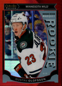 2015-16-O-Pee-Chee-Platinum-Marquee-Rookies-Red-Prism-M44-Gustav-Olofsson-149