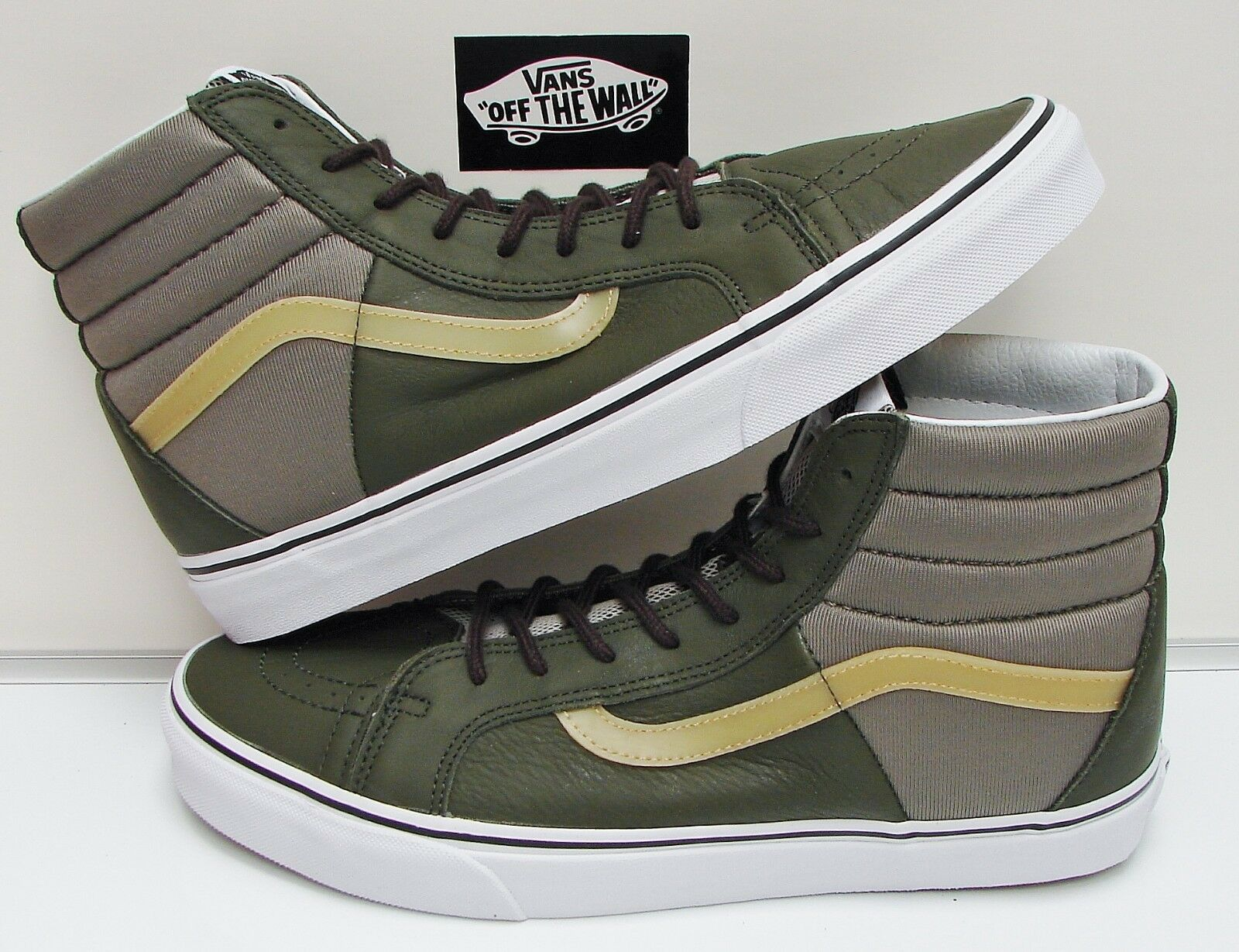 VANS SK8-HI 46 (Neoprene) Grape Leaf VN-0A3MV2R39 Men's size  8.5