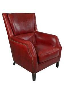 lehnsessel lewes royal rouge vintage leder m bel sessel ohrensessel ledersessel ebay. Black Bedroom Furniture Sets. Home Design Ideas