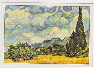 CP Art Board Vincent Van Gogh Field Of Wheat And Cypress