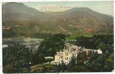 Ross's Hotel, Arrochar, 1909 postcard