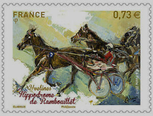 TIMBRE-5158-NEUF-XX-Hippodrome-de-Rambouillet